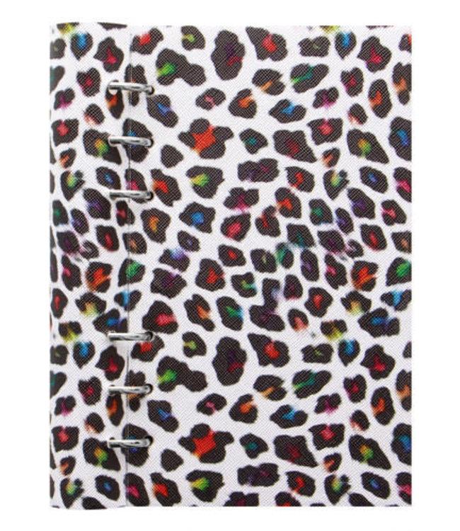 Filofax Filofax Personal Patterned Clipbook Leopard
