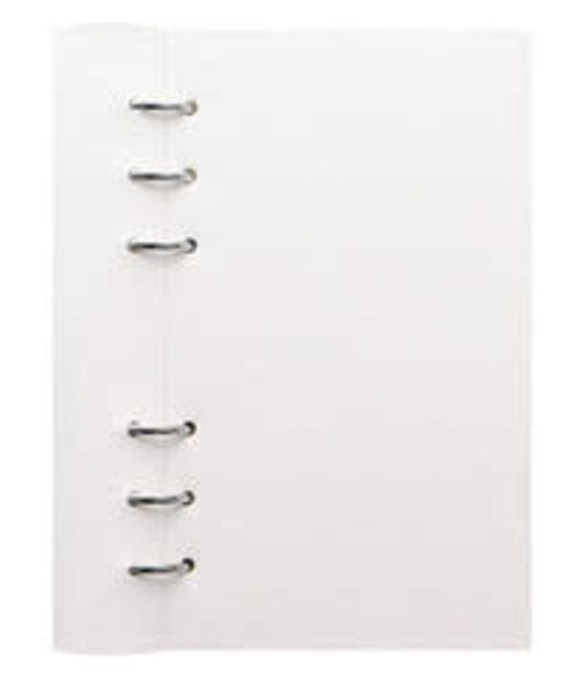 Filofax  Personal Classic Clipbook White