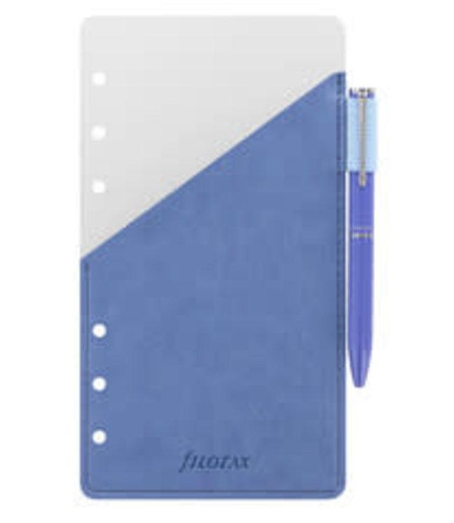 Filofax FILOFAX Pen Holder Blue Personal