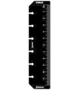Filofax FILOFAX ORG UND POCKET RULER PAGE MARKER BLACK