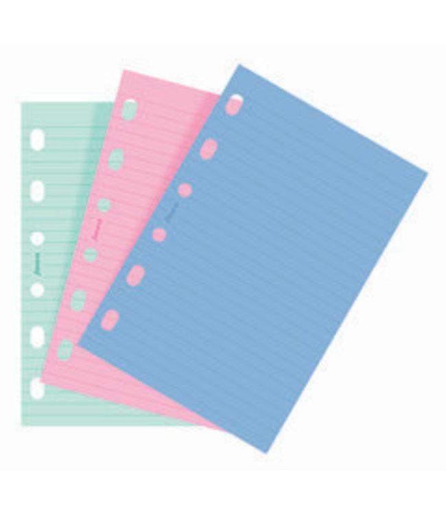 Filofax FILOFAX ORG UND POCKET FASHION COLOURED RULED NOTEPAPER
