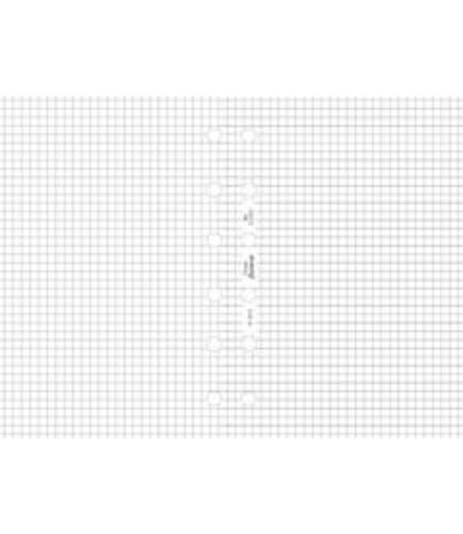 Filofax FILOFAX ORG UND POCKET WHITE QUADRILLE NOTEPAPER