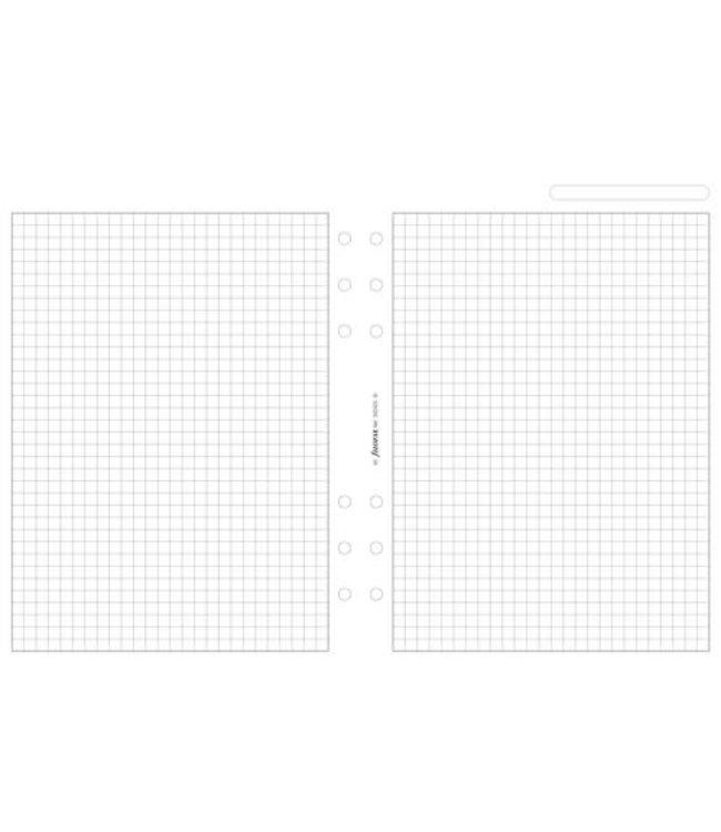 Filofax Filofax ORG UND A5 WHITE QUADRILLE NOTEPAPER
