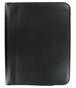 Filofax A4 folio Metropol zipped black
