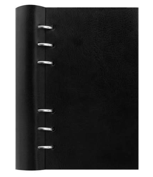 Filofax Personal Clipbook Black