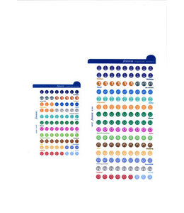 Filofax Organiser Stickers
