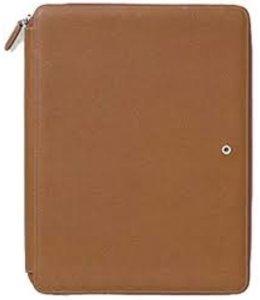 Graf von Faber Castell Writing Case A4 zipped Cognac