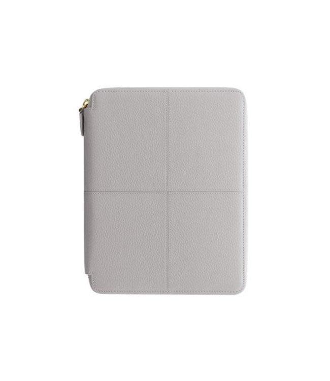 Filofax Filofax Classic Stitch soft A5 Zip Folio Grey