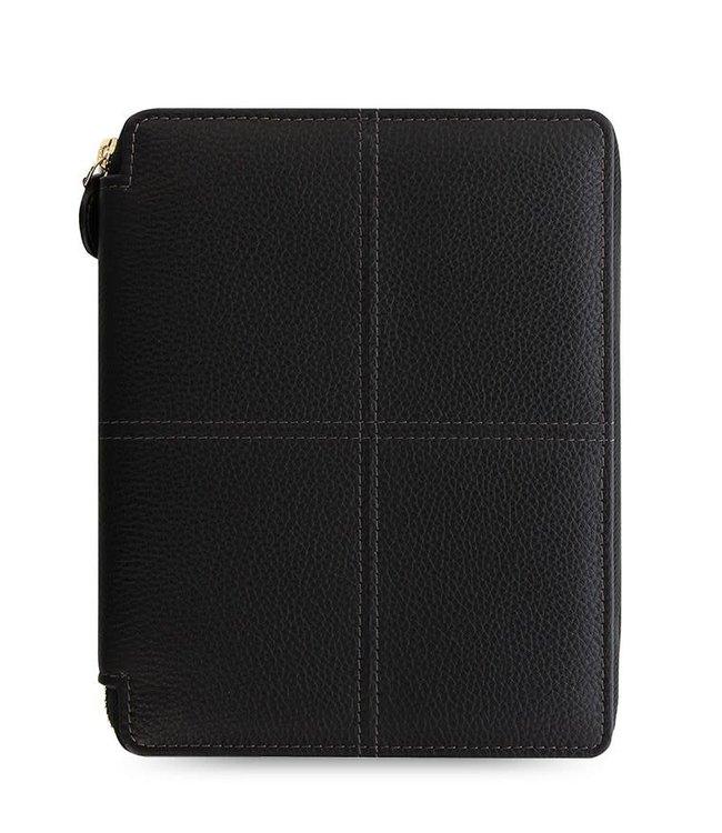 Filofax Filofax Classic Stitch soft A5 Zip Folio Black