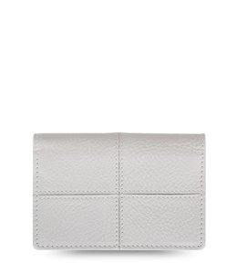 Filofax Classic Stitch Soft Business Card Holder Grey