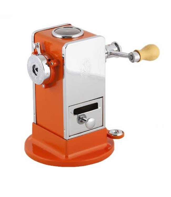 El Casco Pencil Sharpener Chroom/Oranje