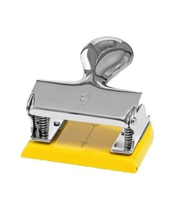 El Casco Perforator Chroom/Yellow
