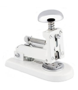 El Casco Stapler Chroom/White