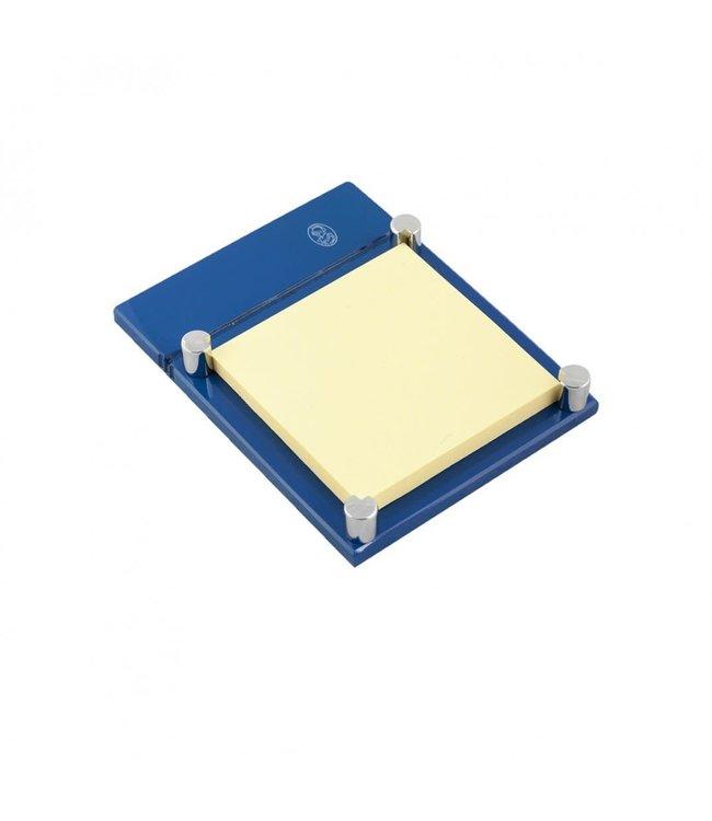 El Casco Adhesive note holder Chroom/Blue
