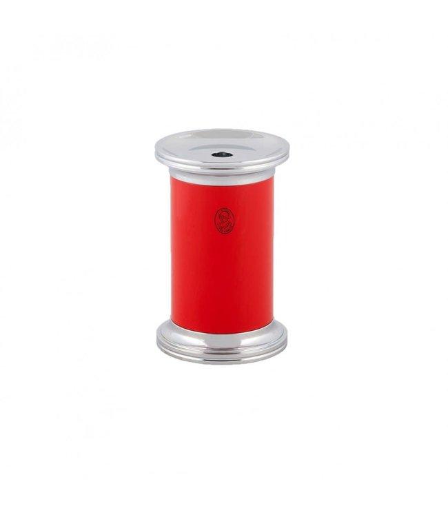 El Casco Pencil Sharpener Chroom/Red