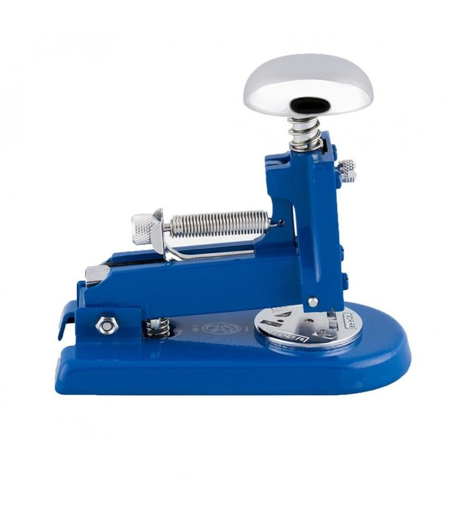 El Casco Stapler Chroom/Blue