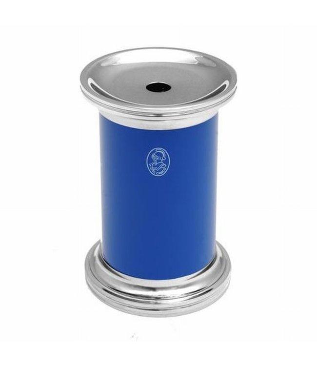 El Casco Pencil Sharpener Chroom/Blue