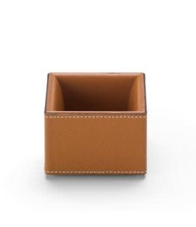 Graf von Faber Castell Paperclip Box small Cognac