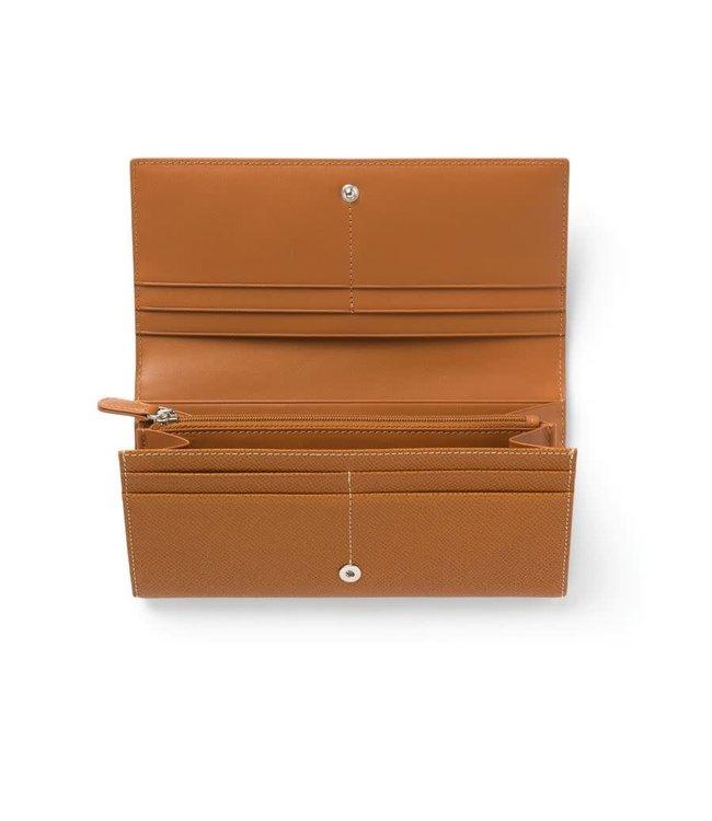 Graf von Faber Castell Zipped purse Cognac