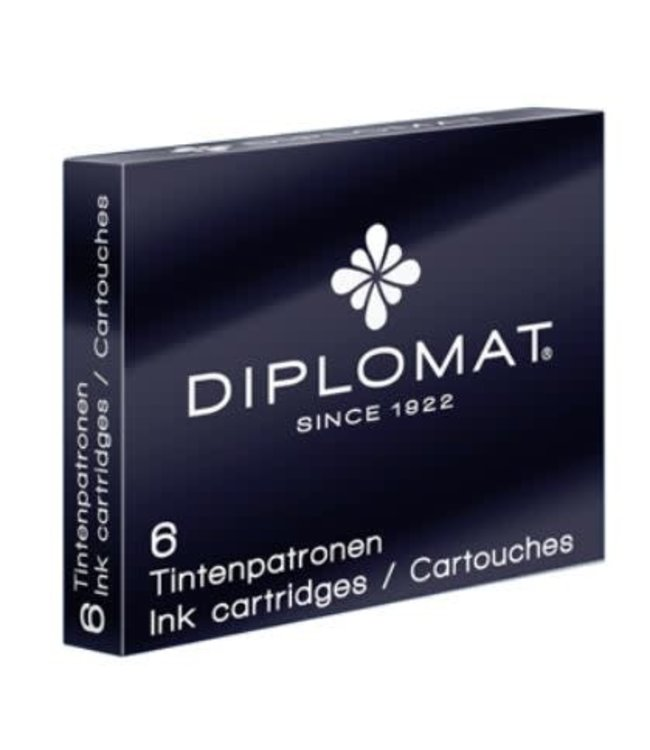 Diplomat Diplomat Inc Cartridge 6x Black