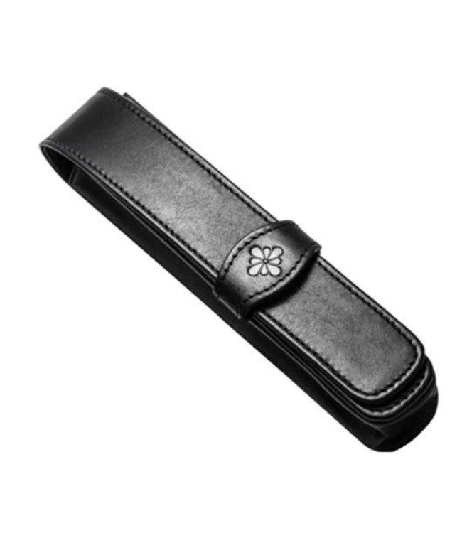 Diplomat DIPLOMAT leather single pen case black