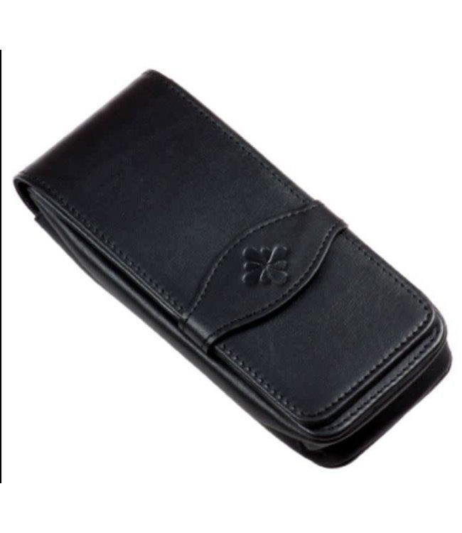Diplomat DIPLOMAT leather pen case black for four pens
