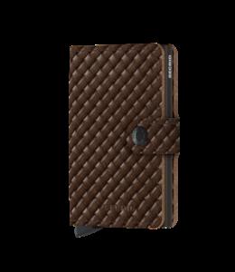 Secrid Basket miniwallet Brown