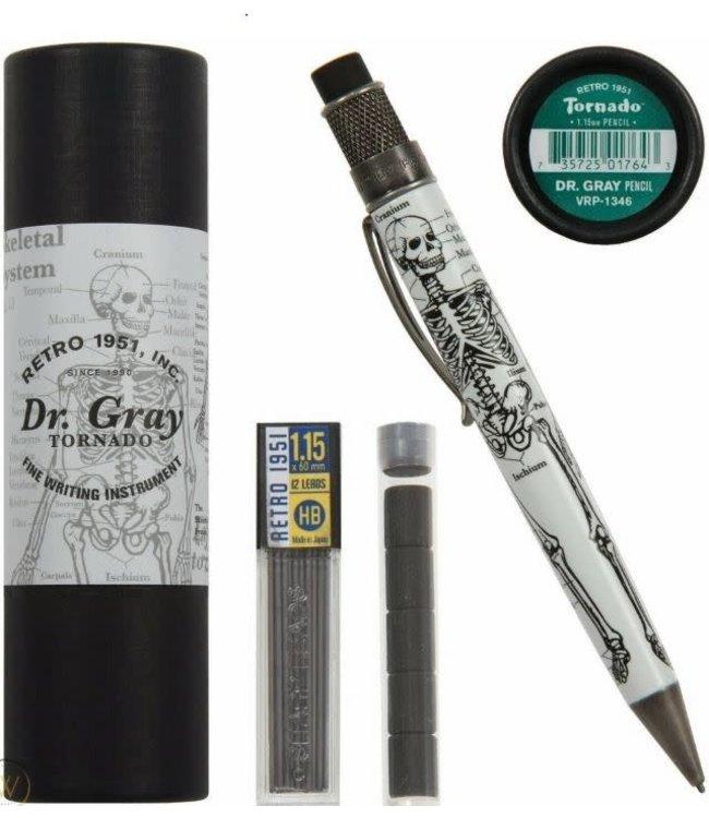 Retro 51 Tornado 1.15mm pencil  Dr.Gray