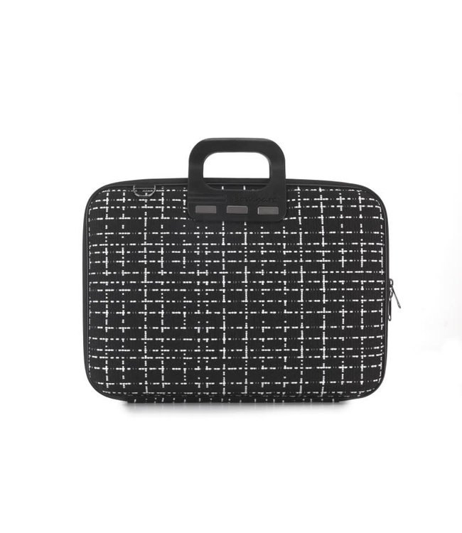 "Bombata Briefcase 15,6"" tweed"