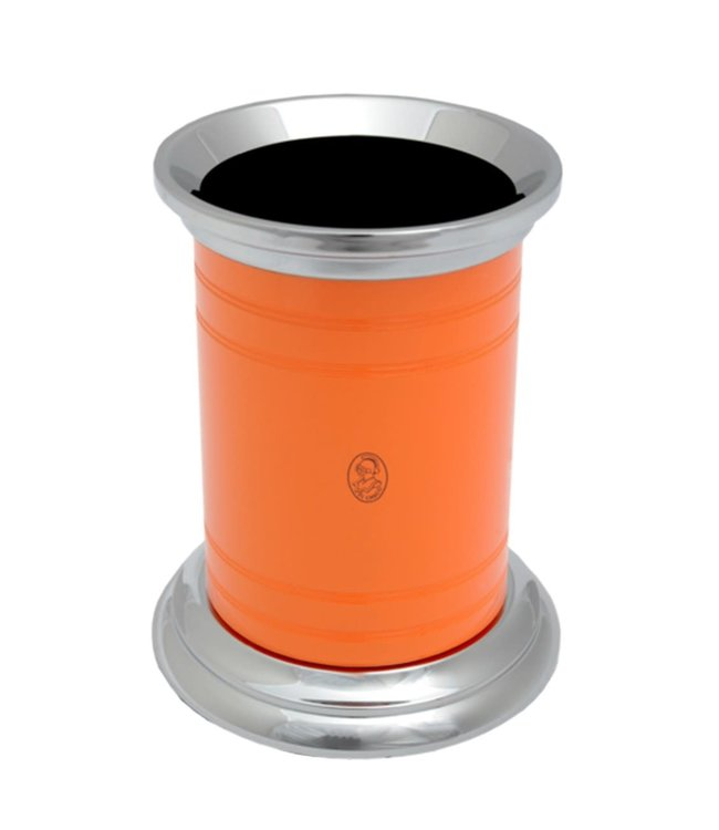 El Casco Pencil pot Chrome/Oranje