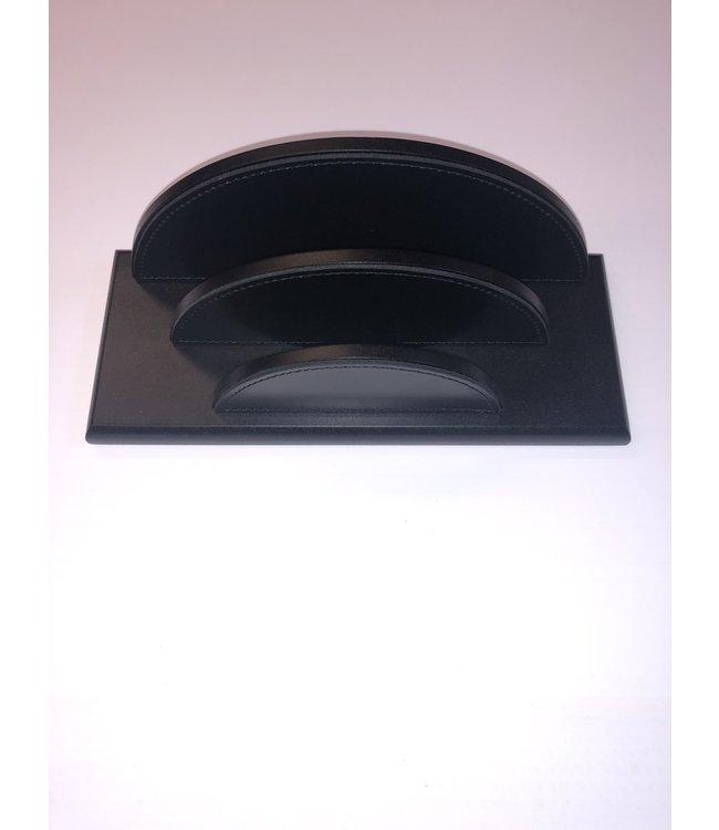 Pinetti brievenhouder Smooth glad leder 22x9 xH9.5cm