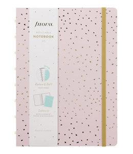 Filofax A5 Notebook Confetti Rose Quartz