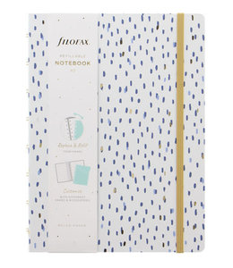 Filofax A5 Notebook Indigo Frost