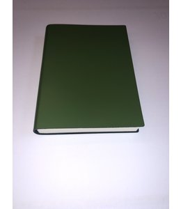 notebook Smooth leather Green