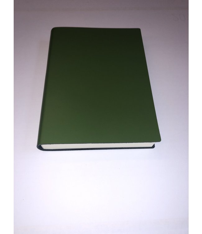 Pinetti notebook  Smooth leather Green