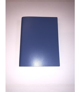 notebook Smooth leather Blue