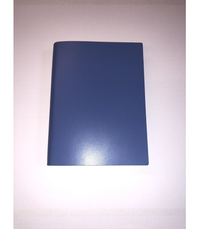 Pinetti notebook Smooth leather Blue
