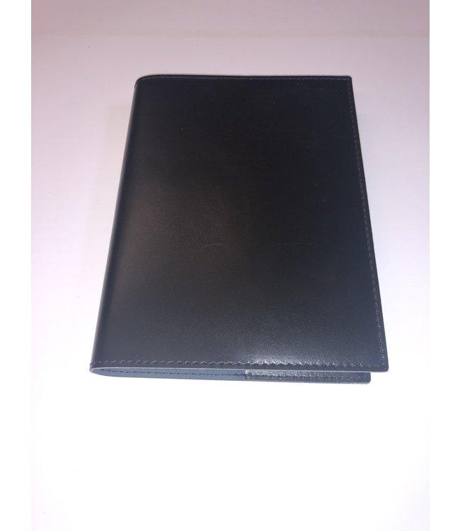 Pinetti notebook navulbaar Smooth leather Black