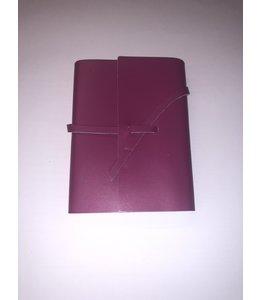 notebook Smooth leather Fushia