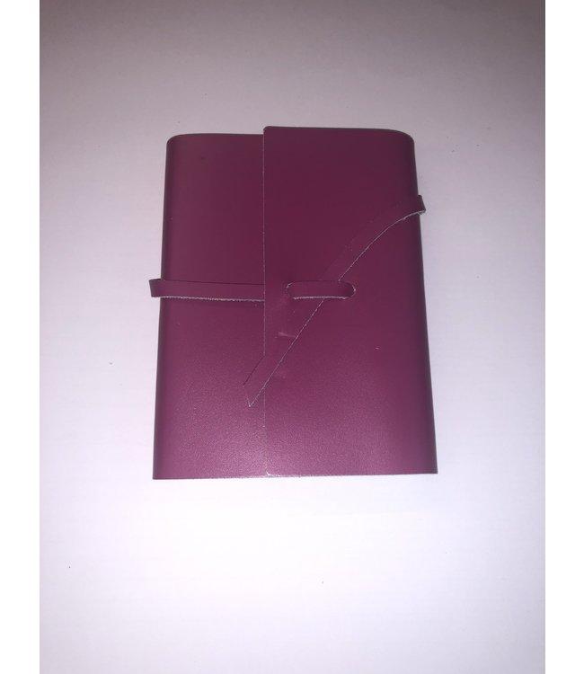 Pinetti notebook lint Smooth leather Fushia