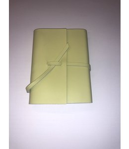 notebook Smooth leather Lime