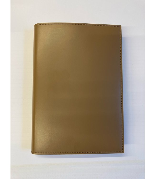 Pinetti notebook A5 navulbaar Smooth leather Toupe