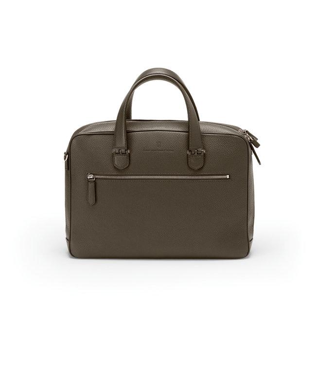 Graf von Faber Castell GVFC Single Briefcase  Dark Brown