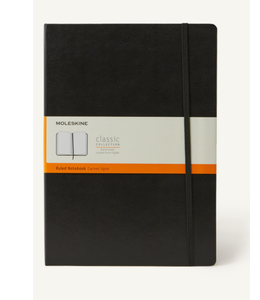 Moleskine Notebook Medium Hard Cover Zwart Gelijnd