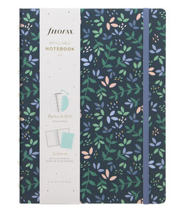 Filofax A5 Notebook Garden Dusk