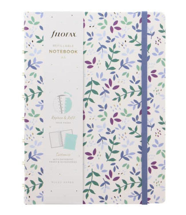 Filofax A5 Notebook Garden Sunrise