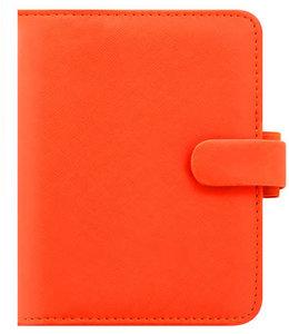 Filofax Pocket Organsier Saffiano Bright Orange