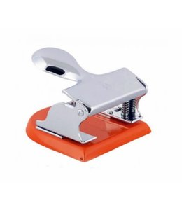 El Casco Perforator Chrome/Oranje