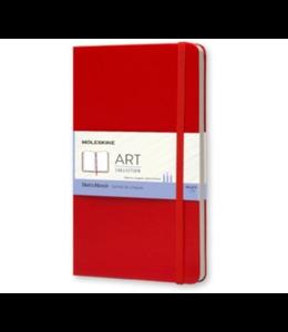 Moleskine Notebook XL Hard Cover Gelijnd Rood