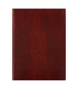 Lett's of London Letts Agenda Lecassa A4 week/2 pag. Brown
